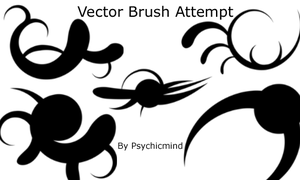 Vector Brush Attempt by psychicmind