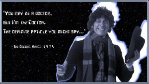 Tom Baker - I am the Doctor by DoctorWhoIV