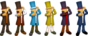 Layton for Smash by Gentlemanly