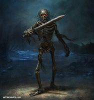 Skelton Warrior by Antonio-Abadia