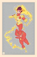 Fire and Lightning by daabcreative