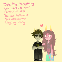 Sollux and Feferi by calallini