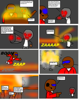 Project: World domination page2- The gun by DabZen