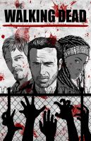 The Walking Dead by Red-Flare