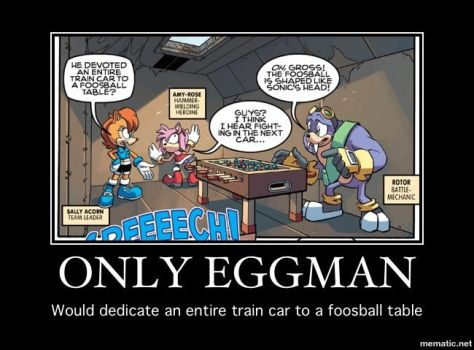 Only Eggman by akessel92