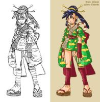 Ayame Colored by chloebs
