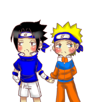 OTP 30 Day Challenge: Day one Holding hands by XxSasuNaruUchihaxX