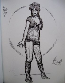Figure Drawing Girl by PizzaParty