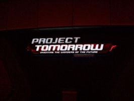 EPCOT: Project Tomorrow sign by wilterdrose-stock