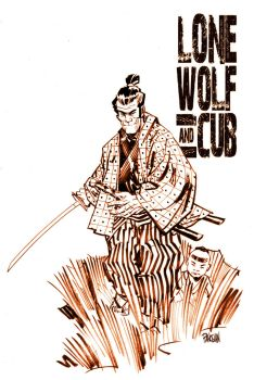 LONE WOLF and CUB by urban-barbarian