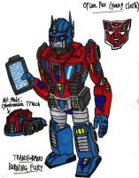 Transformers Burning Fury- Orion Pax (Young Clerk) by KrytenMarkGen-0