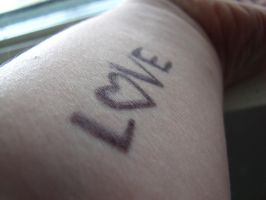 To Write Love On Her Arms. by Archiipelago