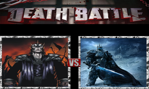 Morgoth vs. Arthas the Lich King by ScarecrowsMainFan