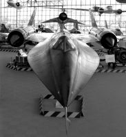 SR-71 Blackbird M21 by RUNNrabbitRUNN