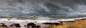 Stormy Sea by Sagereid
