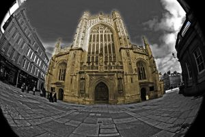 Bath Cathedral by Criee