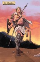 Cu Chulainn by WillSliney
