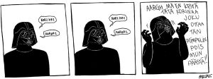 My day as Darth Vader by juustozzi