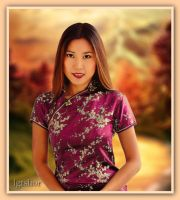 Asiatic Beauty by Lior-Art