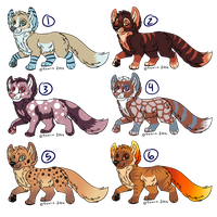 Canine Adopts 001 (closed) by Tremlin
