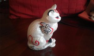 ---SOLD--- Customized 'Kabegami' statue by stephanie1600