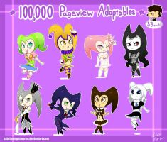 +100,000 Pageview Adoptables+ by SabrinaNightmaren