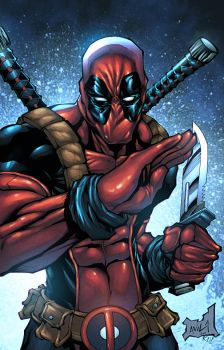 Deadpool by NesTHORcolors