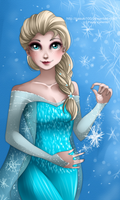 Elsa - Frozen by Nasuki100