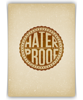 Logo Badge Haterproof by APgraph
