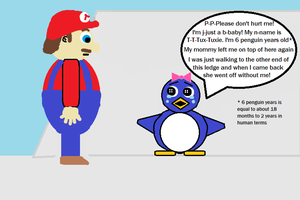 Mario 64 Baby Penguin (in a different light) 4 by CJO1234