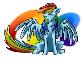 MLP: Rainbow Dash by Wolframclaws