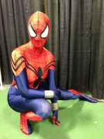 Spidergirl just chilling by animeloving-Okami
