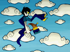 Homestuck - An Airplane Carried Me to Bed by abbic314