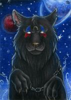 ACEO for Bloodhound Omega by Dragarta