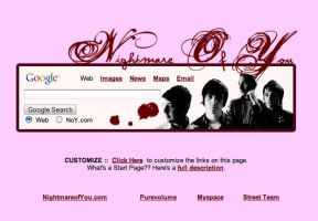Nightmare of You Startpage by AwesomeStart