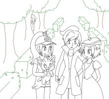 Pokemon: A Day In The Park WIP by mashashy