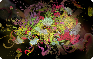 floral madness by photoshop-addict28