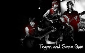 Tegan and Sara Wallpaper by xhallelujahx