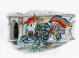 Assault Rainbow Dash by Salahir