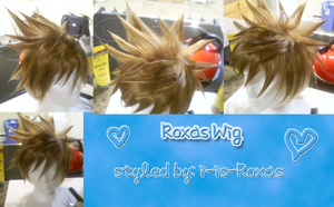 Roxas Wig - Completed by i-is-Roxas