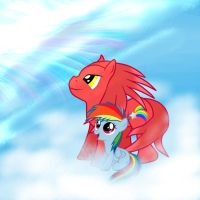 The Rainbow in the Sky by Wildy71090
