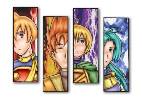 Golden Sun Group by S0rce
