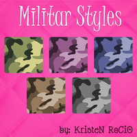 Militar Styles NUEVOS by RoohEditions