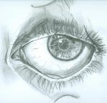 Sketch of an Eye by bewarecalamity