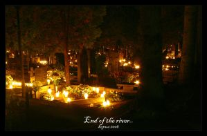 End of the river.. by kopus