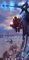Halo:Reach Ad Banner FanArt by stuckart