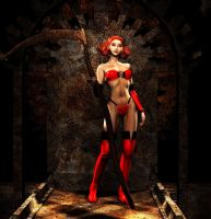 Lady In Red by DarkNova666