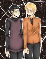Space Husbands: The Early Days by carouselcycles