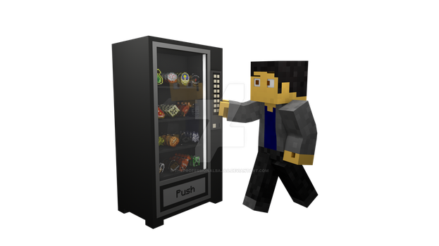 Me and The Vending Machine by TheProfessionalBajao