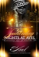 Saturdays Nights At Avel layout by GFXbyDredesignz